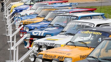 40th anniversary of Renault 5 Alpine Groupe 2 FCRA