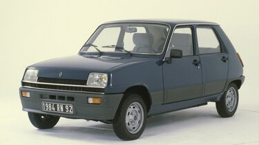 RENAULT 5 – 40 ANS passion brochures
