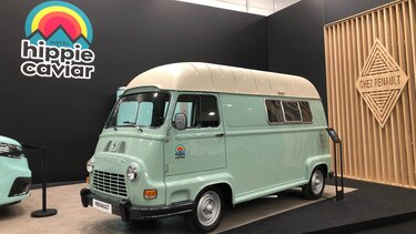 Renault Estafette campervan in Dusseldorf
