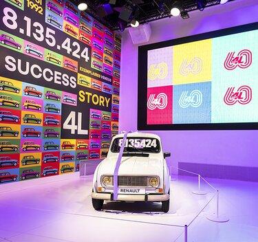 60 ans Renault 4L