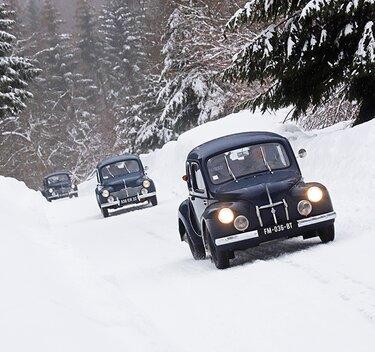 4CV on snow