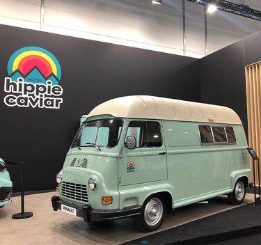 Renault Estafette camping-car salon Dusseldorf
