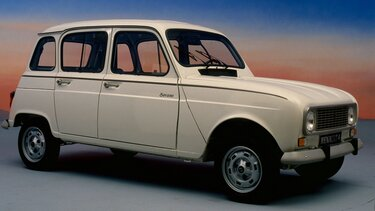 RENAULT 4 blanche