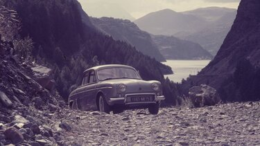 RENAULT ONDINE in the mountains