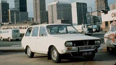 RENAULT 12 blanche