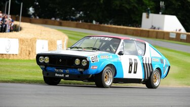 RENAULT 17 GROUPE V course