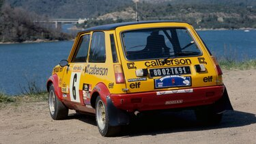 RENAULT 5 ALPINE GROUPE 2 rear view