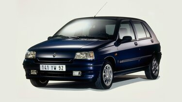 RENAULT CLIO bleu marine