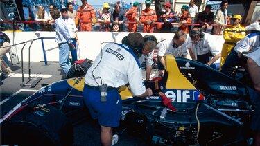 F1 TYPE FW15 écuries