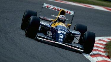 F1 TYPE FW15 virage course