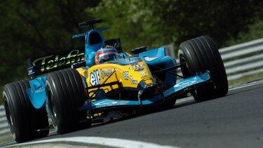 RENAULT F1 R24 racing