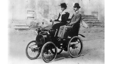 première voiturette TYPE A