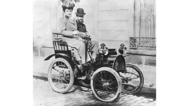 TYPE A with passenger on the road