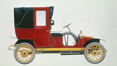 RENAULT TAXI TYPE AG drawing