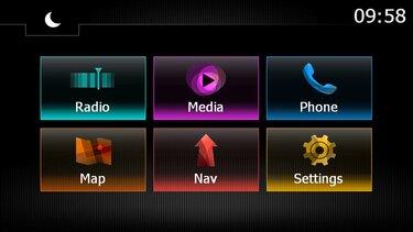 versión del sistema media nav evolution