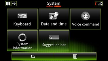 versión del sistema rlink2