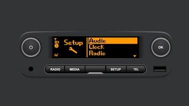 version systeme radio connect