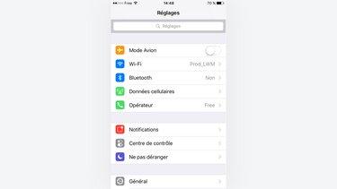 version logicielle iphone