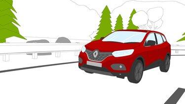 Autós színező és kifestő – Renault KADJAR