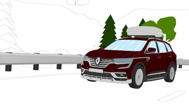 Autós színező és kifestő – Renault KOLEOS