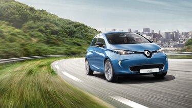 Renault op de weg