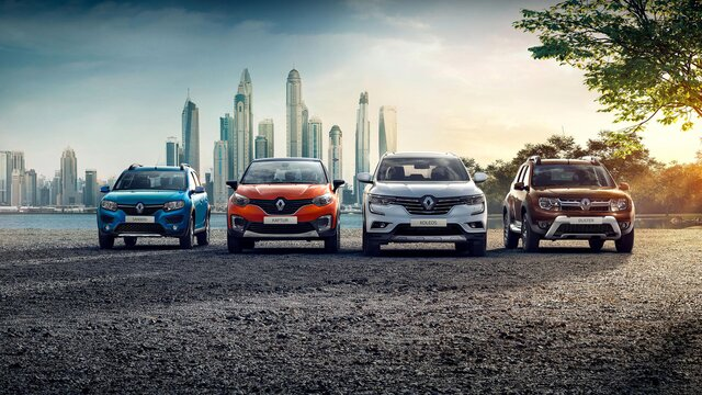 Renault vehicle range