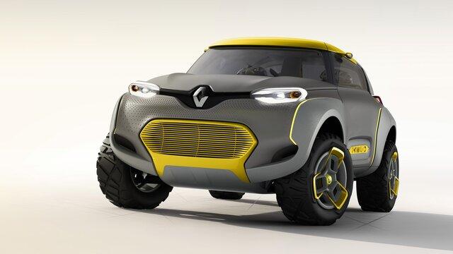 Koncept Renault KWID
