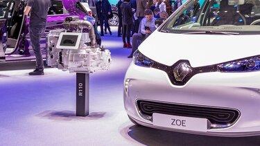 Renault tecnologias - veículo elétrico