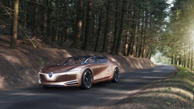 Renault SYMBIOZ Concept - na estrada