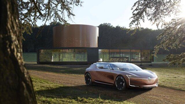 Renault SYMBIOZ Concept - dizájn