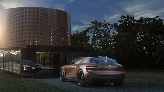 Renault SYMBIOZ Concept – Heckansicht