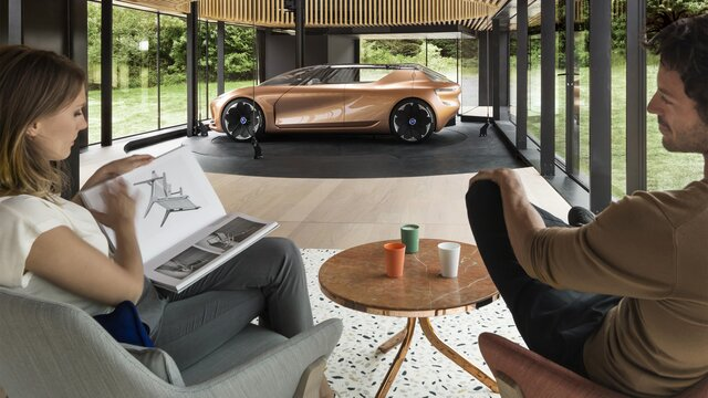 Renault SYMBIOZ Concept – Seitenansicht