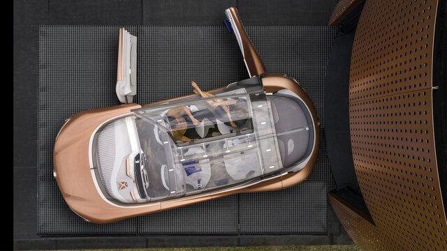 Renault SYMBIOZ Concept - diseño interior