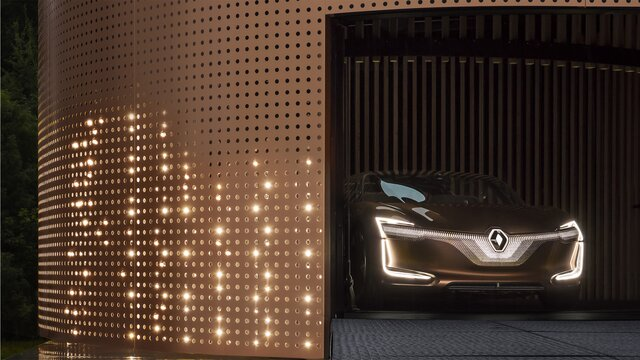 Renault SYMBIOZ Concept - faróis