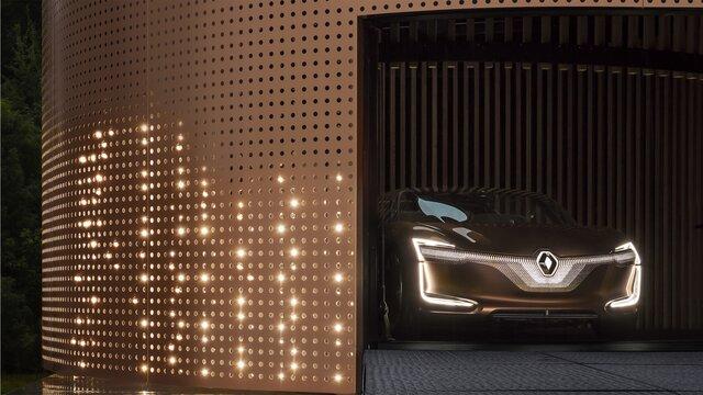 Renault SYMBIOZ Concept – Frontscheinwerfer