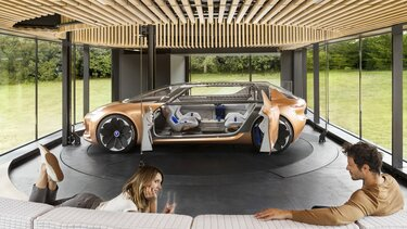Renault SYMBIOZ Concept - Design interno