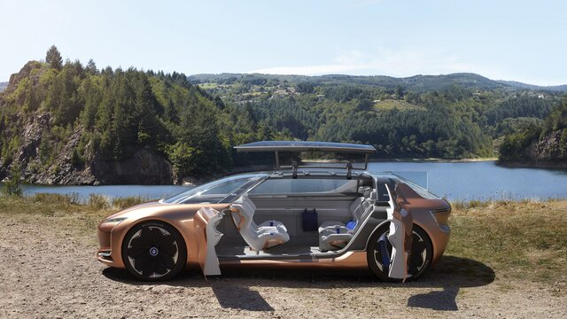Renault SYMBIOZ Concept – indvendigt design
