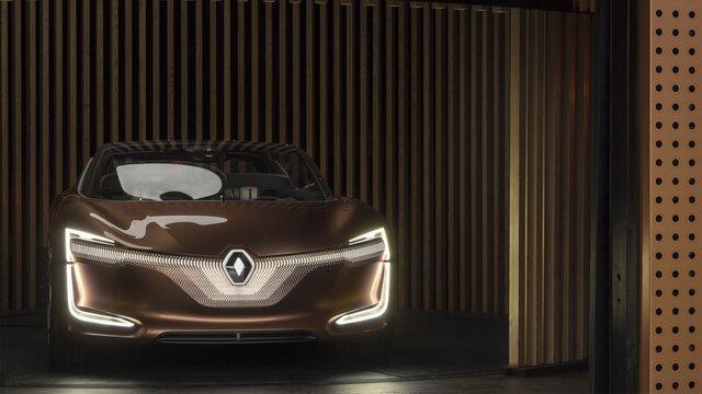 Renault SYMBIOZ Concept - elölnézet