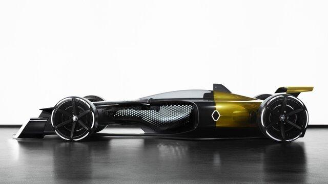 R.S. 2027 VISION Formula One zijkant