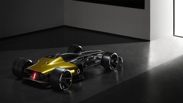 R.S. 2027 VISION Fórmula 1 vista trasera