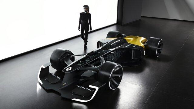 R.S. 2027 VISION Fórmula 1 estudio