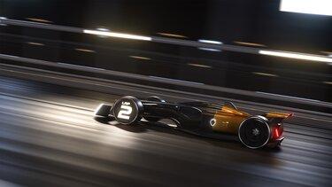 R.S. 2027 VISION Formule Un - a versenypályán