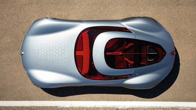 Renault TREZOR Concept panoramisch zicht