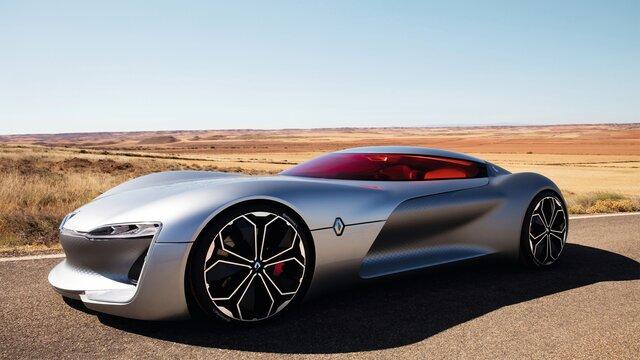 Renault TREZOR Concept zijaanzicht