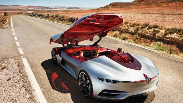 Koncept Renault TREZOR – krov
