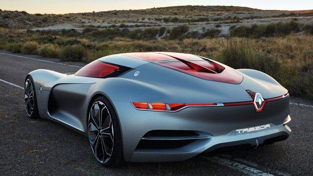 Renault TREZOR Concept exterior design