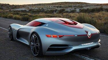 Renault TREZOR Concep design extérieur