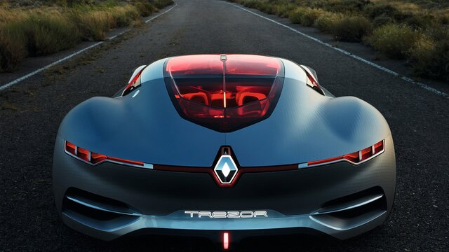 Koncept Renault TREZOR – prikaz straga