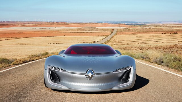 Koncept Renault TREZOR – prednji kraj