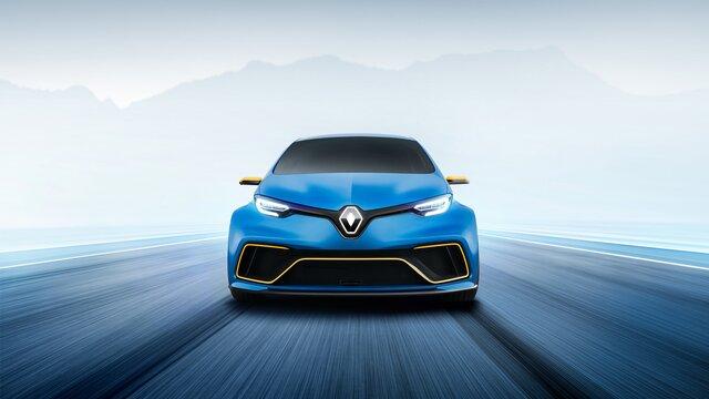 Renault ZOE e-Sport Concept - elölnézetből